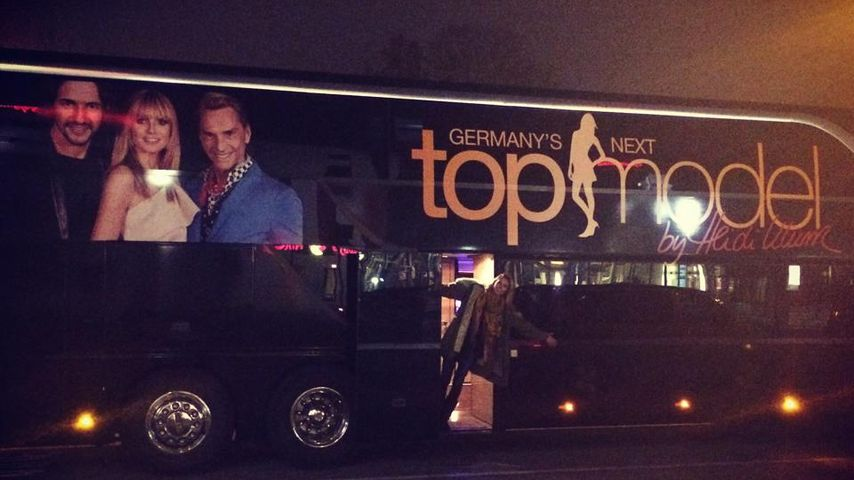 GNTM-Schock! Polizei hält Heidi Klums Model-Bus an