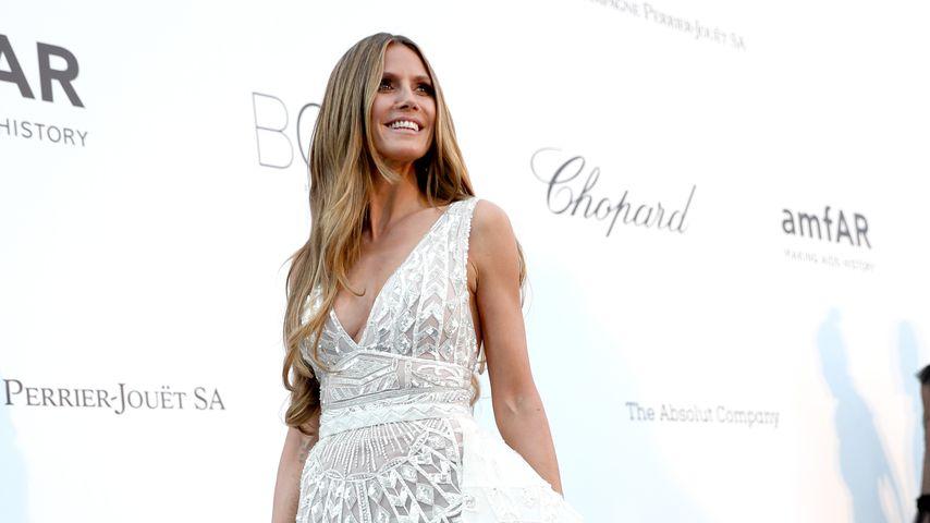 Heidi Klum bei der amfAR-Gala in Cannes