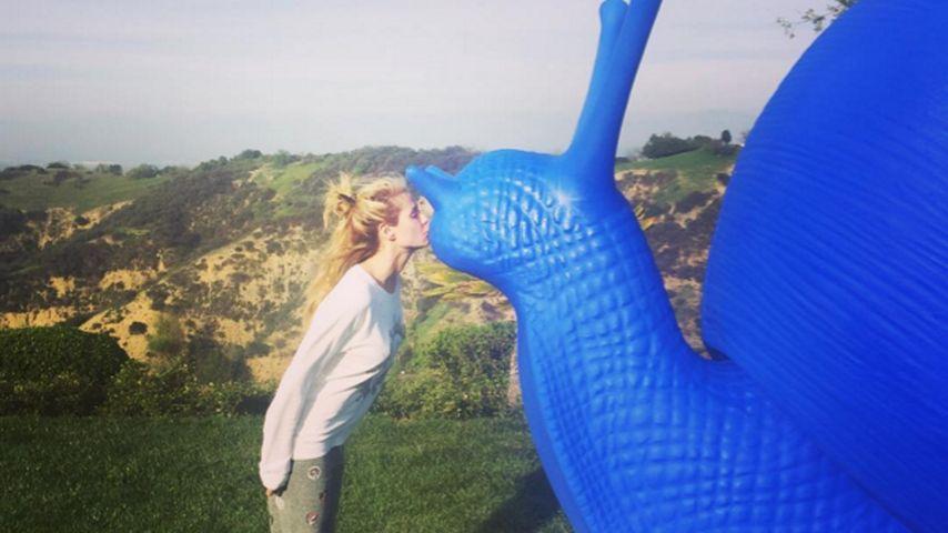 Neue Liebe? Heidi Klum knutscht fremd - mit einer Schnecke!