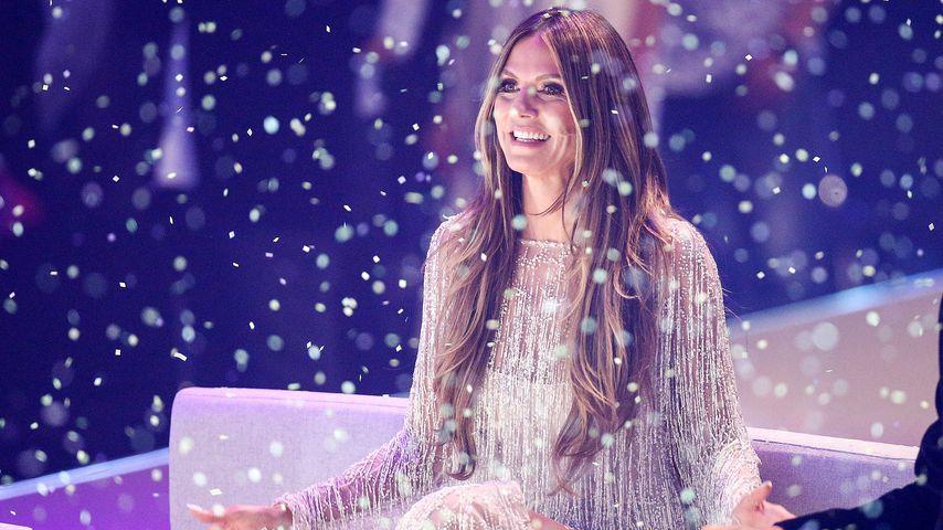 "Heidi Klum beim ""Germany's next Topmodel""-Finale 2018"