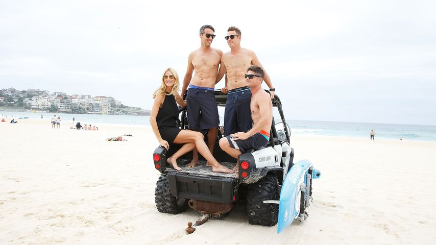 Heißer Vierer? Heidi Klum schnappt sich 3 Beach-Boys!