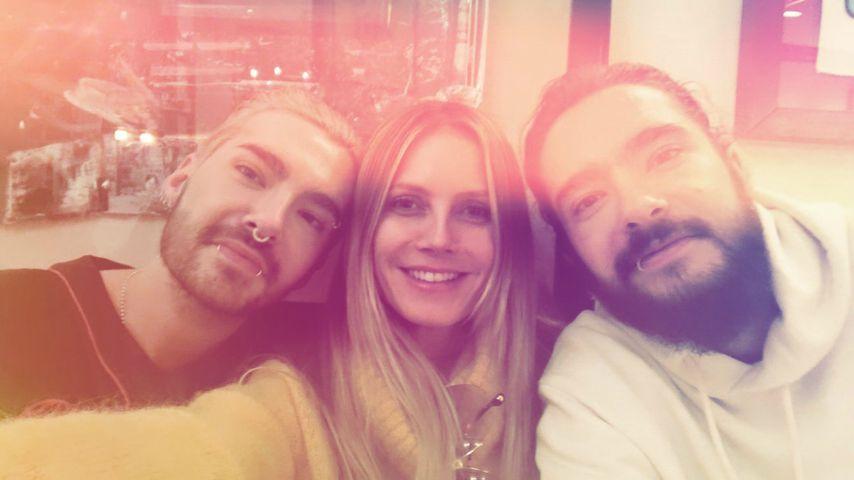 Einfach unzertrennlich: Heidi Klum und ihre Kaulitz-Twins!