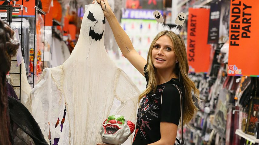Heidi Klum beim Halloween-Shopping
