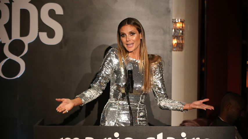 Model Heidi Klum beim Marie Claire Image Makers Award 2018 in Hollywood