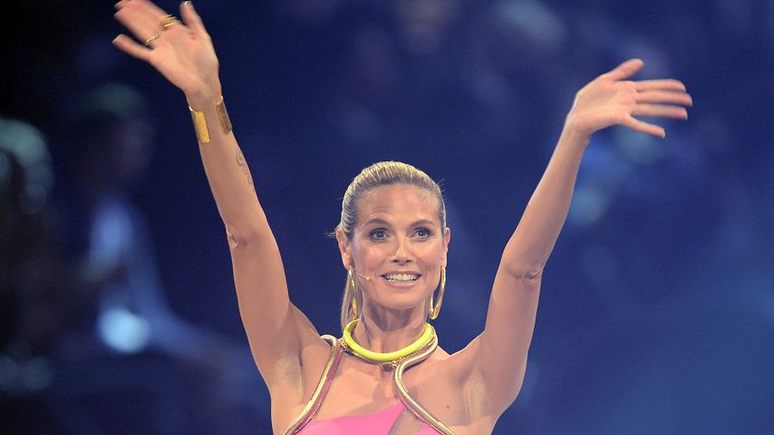 "Heidi Klum beim ""Germany's next Topmodel""-Finale 2013"