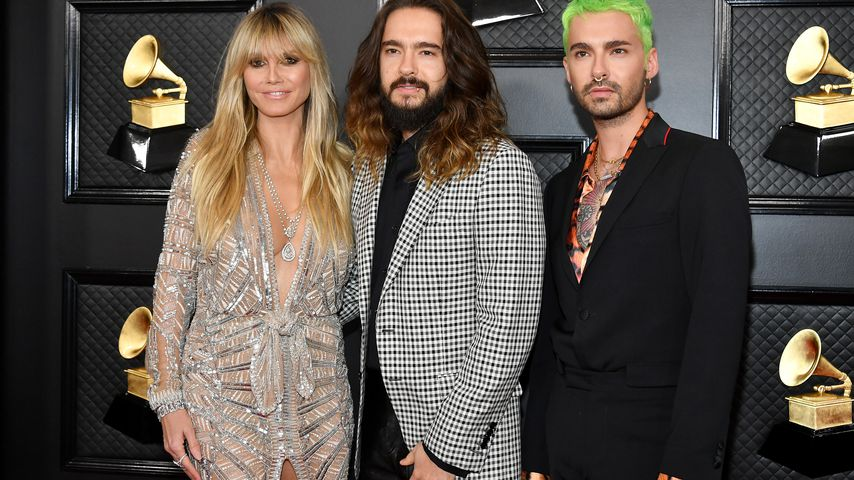 Karo & Tigerhemd bei Grammys: Kaulitz-Trio wagt Mode-Mix