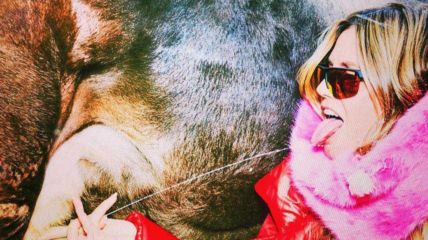 """""""Lecker!"""": Heidi Klum spaltet Fans mit diesem Euter-Pic!"""