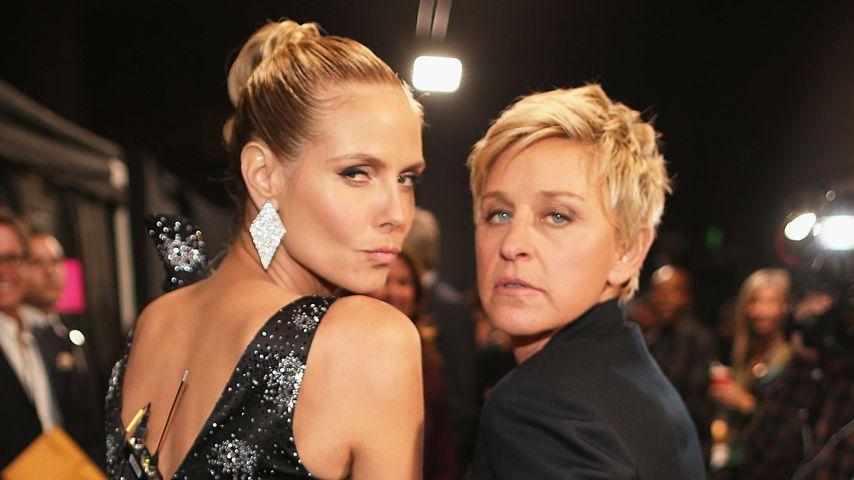Heidi Klum und Ellen DeGeneres in Los Angeles