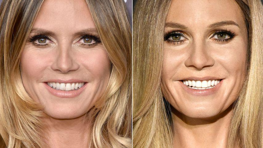 2. Wachs-Model: Sieht Madame-Tussauds-Double aus wie Heidi?