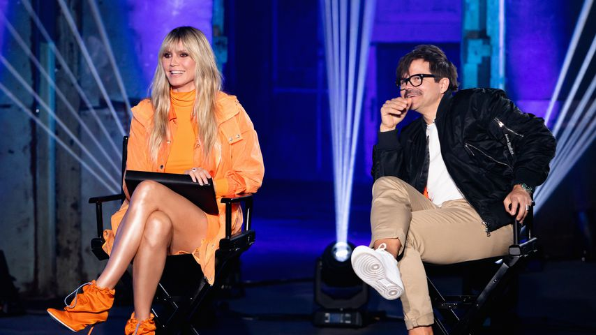 "Heidi Klum und Kristian Schuller bei ""Germany's next Topmodel"" 2020"