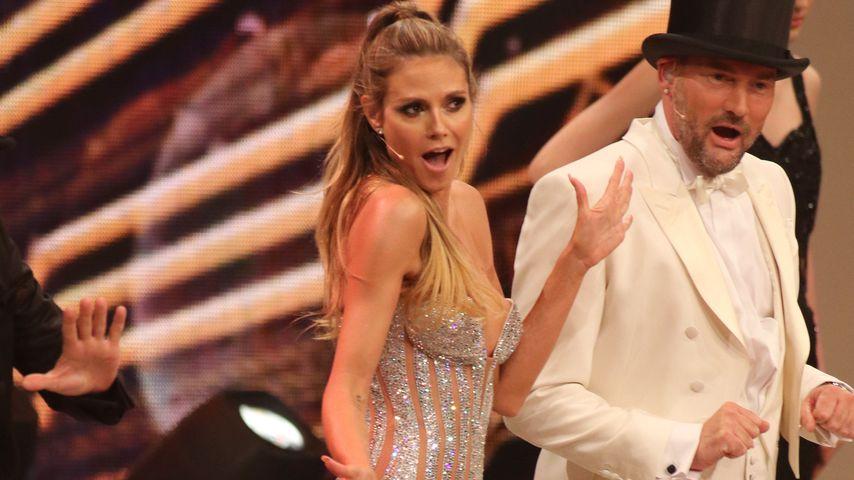 Heidi Klum und Michael Michalsky beim Finale von Germany's next Topmodel 2017