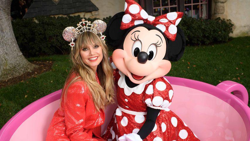 Für 600 Dollar: Heidi Klum entwirft Minnie-Mouse-Ohren!