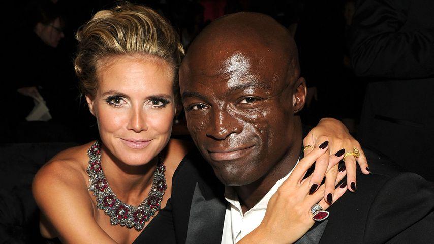 Heidi Klum und Seal im August 2010