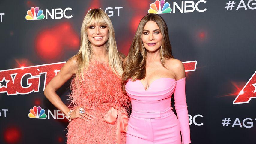 "Heidi Klum und Sofia Vergara bei ""America's Got Talent"""