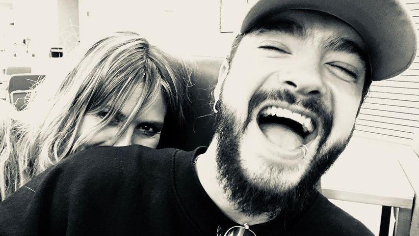 Ausgelassener Tom Kaulitz: Spiele-Abend bei Heidi & den Kids