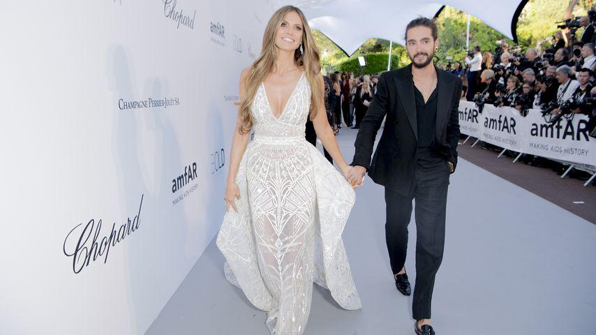 Heidi Klum und Tom Kaulitz bei der amfAR Gala Cannes 2018