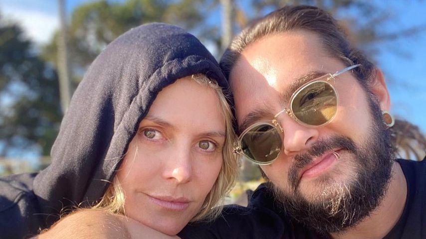 Heidi Klum mit ihrem Tom