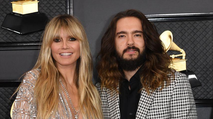 Heidi Klum und Tom Kaulitz im Januar 2020 in Los Angeles