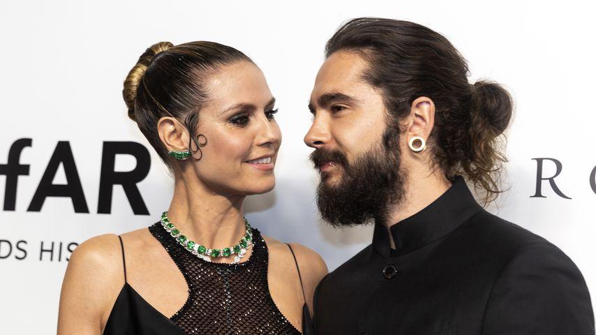 Heidi Klum und Tom Kaulitz auf der amfAR Gala 2019 in Hongkong