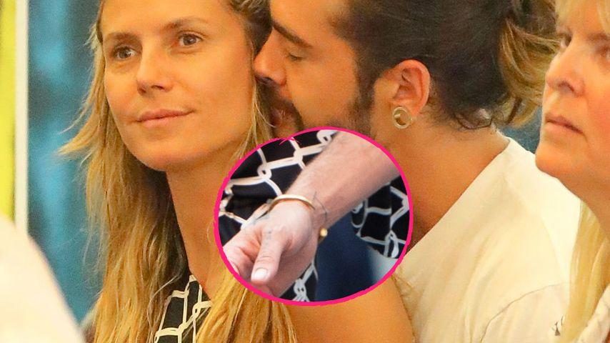 Wie Heidis T auf dem Arm: Tom Kaulitz trägt ein H-Tattoo!