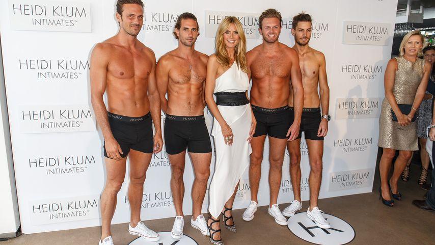 Sexy-Alarm: Heidi Klum hat Spaß mit heißen Jungs