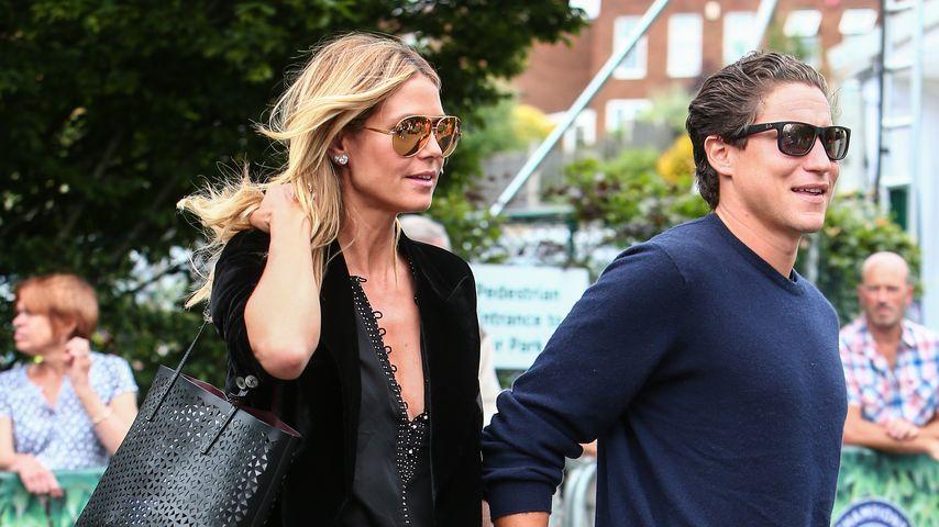 Model Heidi Klum und ihr Freund Vito Schnabel