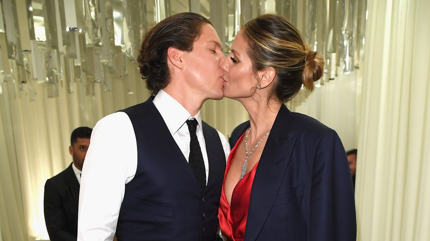 Sexy in der Schweiz: Heidi Klum unterstützt ihren Vito