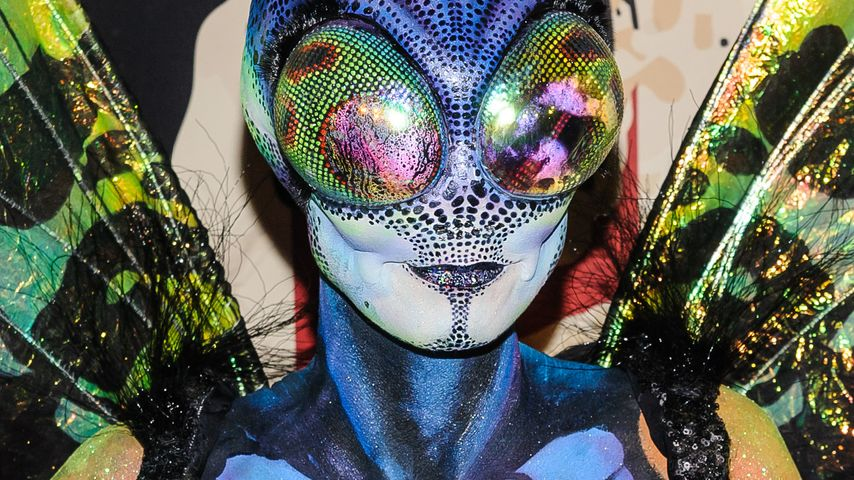 Heidi Klum an Halloween