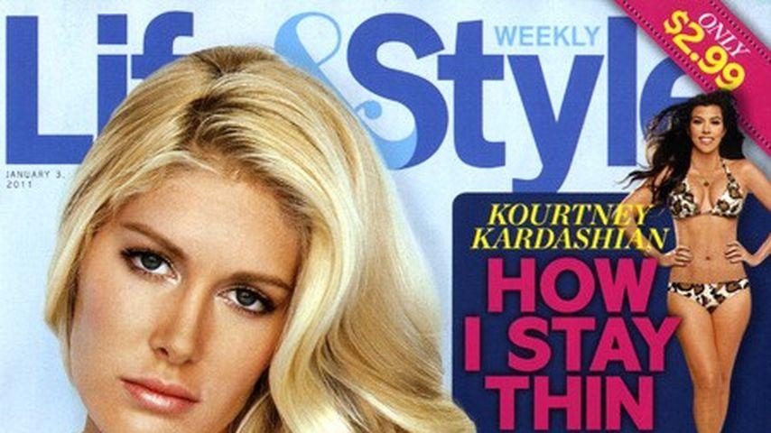 Heidi Montag präsentiert ihre OP-Narben