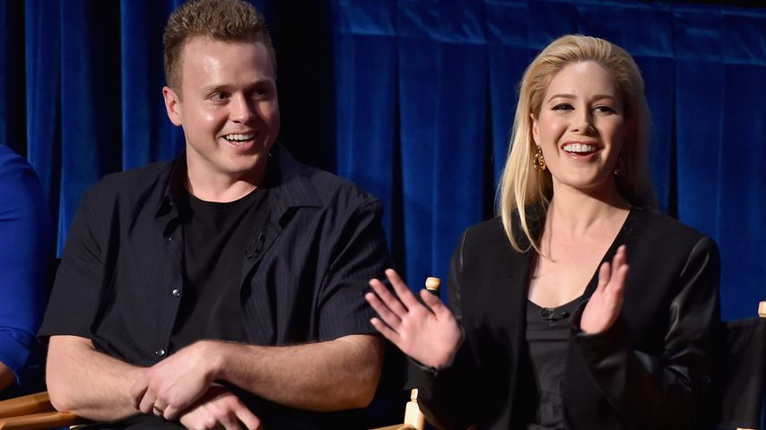 "Heidi Montag und Spencer Pratt  bei der ""Evolution of the Relationship""-Reality Show"
