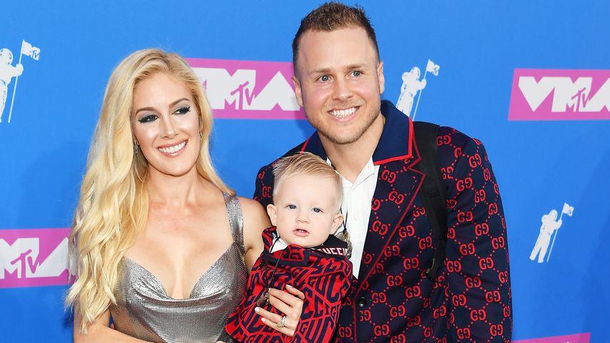 Heidi Montag und Spencer Pratt mit ihrem Sohn bei den MTV Video Music Awards 2018
