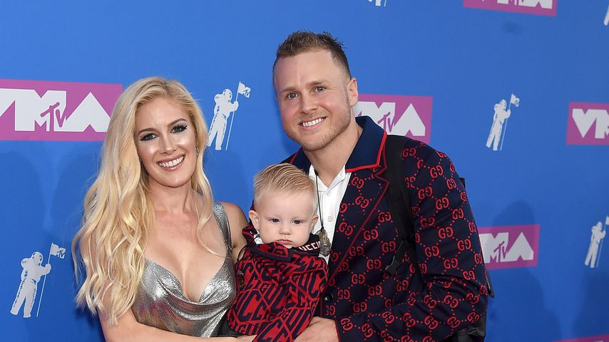 Heidi Montag und Spencer Pratt mit Sohn Gunnar bei den MTV Video Music Awards 2018 in New York City