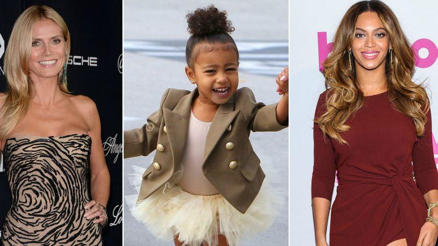 Beyonce, North West und Heidi Klum