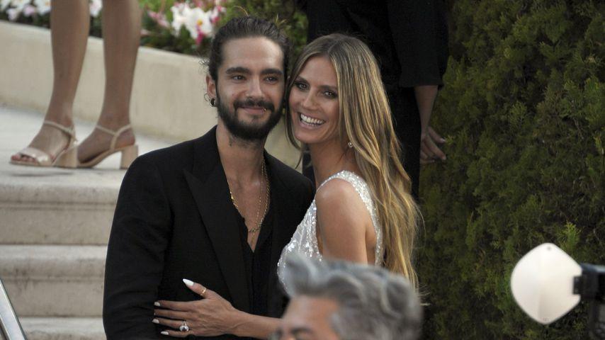 Tom Kaulitz und Heidi Klum in Cannes