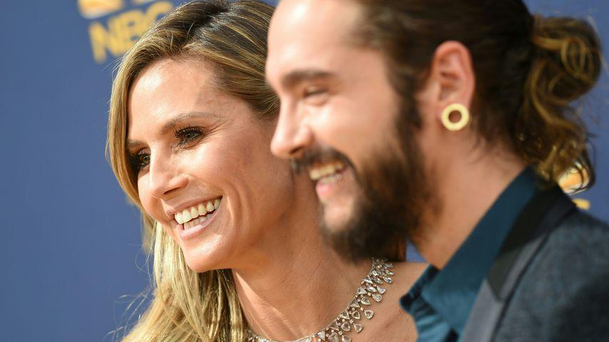 Das muss Liebe sein! Hier stutzt Heidi Klum Tom den Bart