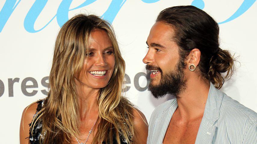 Heidi Klum und Tom Kaulitz in Porto Cervo, Sardinien