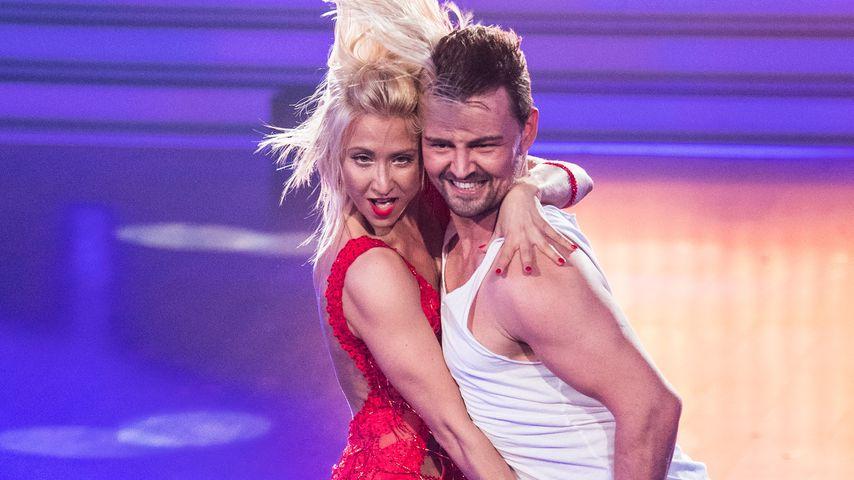 """Heinrich Popow und Kathrin Menzinger bei """"Let's Dance"""" 2017"""