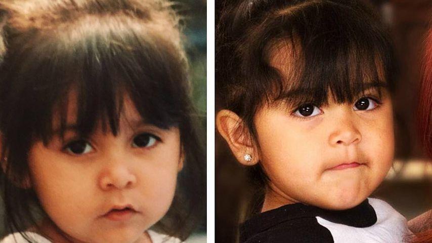 Fotobeweis: Snookis Tochter sieht aus wie ihre Mama als Kind