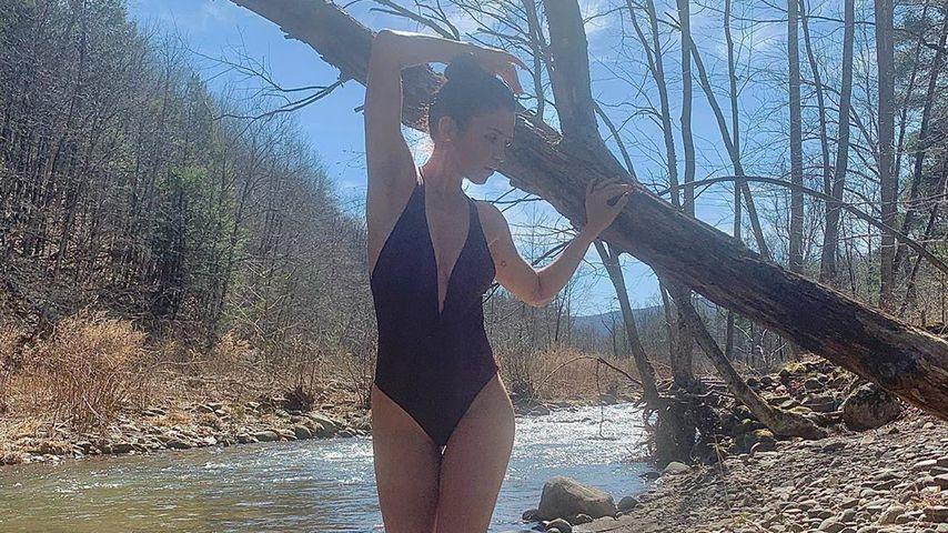 Wow-Body mit 51 Jahren: Helena Christensen zeigt ihre Kurven