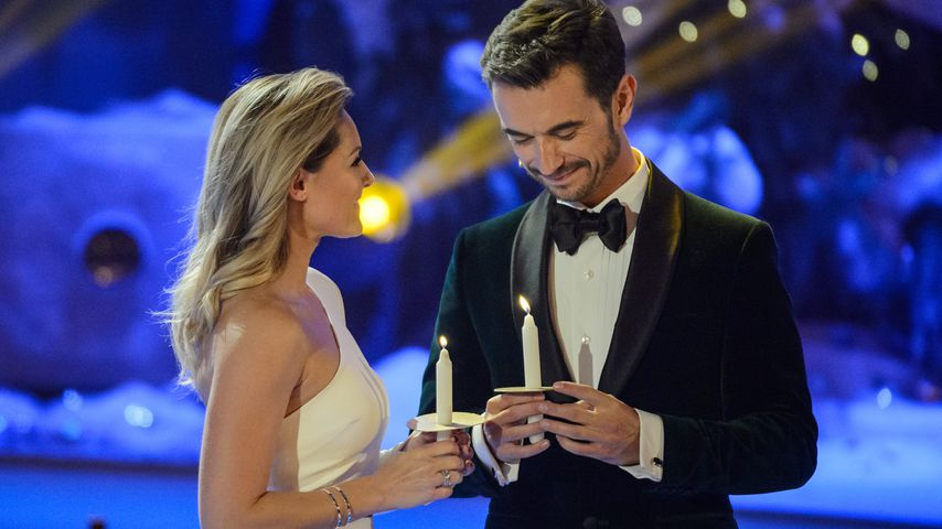 """Helene Fischer und Florian Silbereisen bei """"Das Adventsfest der 100.000 Lichter"""" im November 2016 in"""