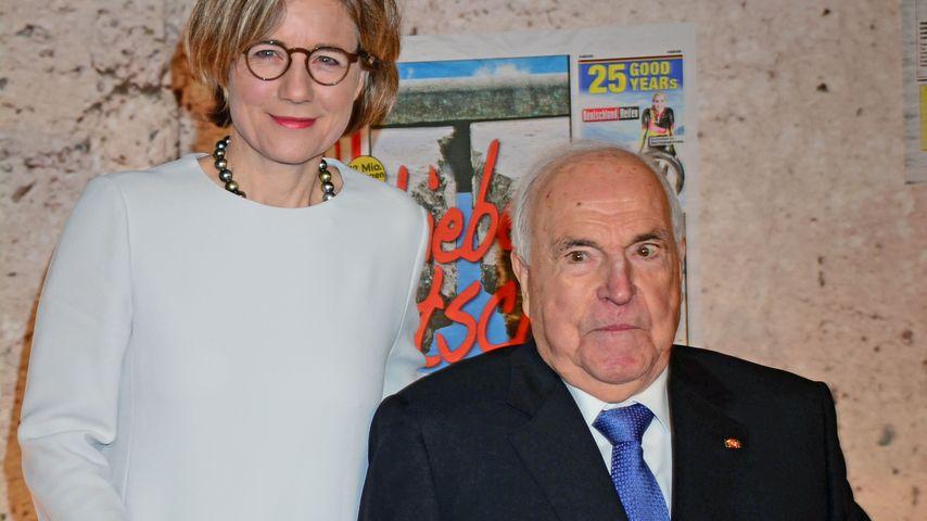 Helmut Kohl und seine Frau Maike Kohl-Richter