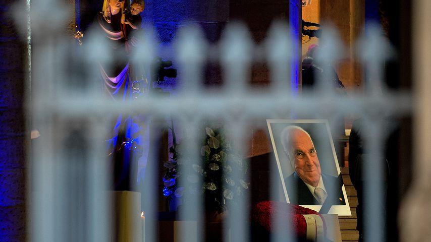 Helmut Kohls Beerdigungszeremonie