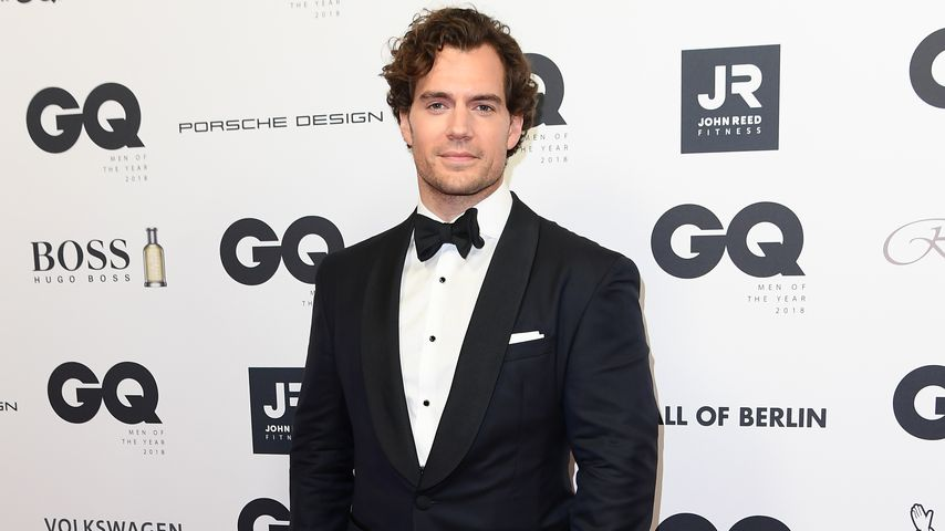 Henry Cavill beim 20. GQ Men of the Year Award in Berlin