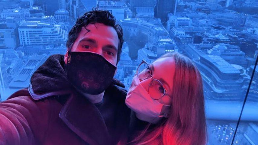 Henry Cavill und Natalie Viscuso im Mai 2021