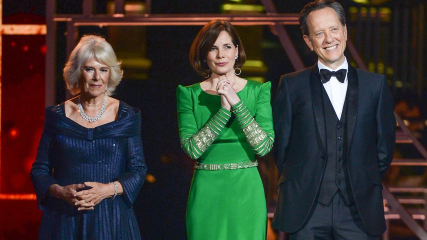 Herzogin Camilla, Darcey Bussell und Richard E. Grant bei den Olivier Awards 2019 in London