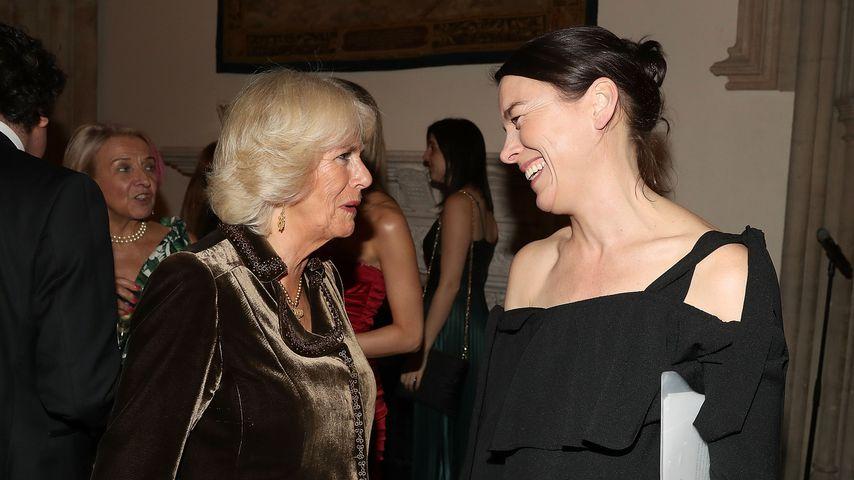 Herzogin Camilla und Olivia Williams bei der Verleihung des Man Booker Prize, 2017