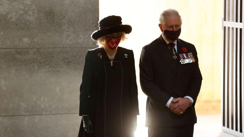 Herzogin Camilla und Prinz Charles am 15. November 2020