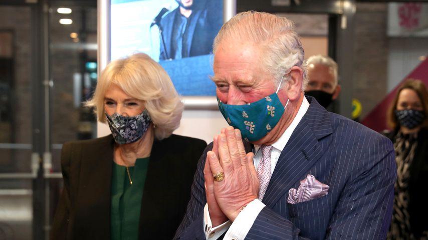 Nach der Queen: Auch Thronfolger Charles wurde jetzt geimpft