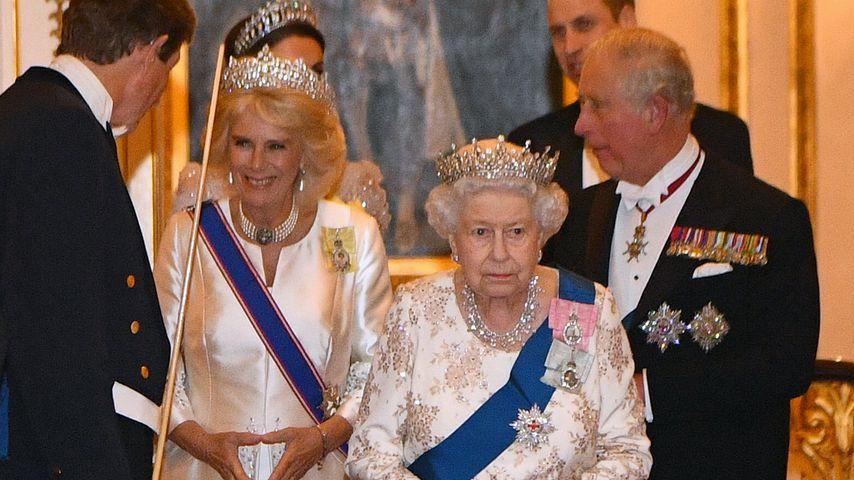 Herzogin Camilla und Queen Elizabeth II.