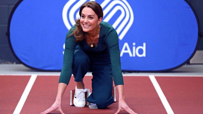 Herzogin Kate gibt jetzt ordentlich Gas bei einem Wettrennen